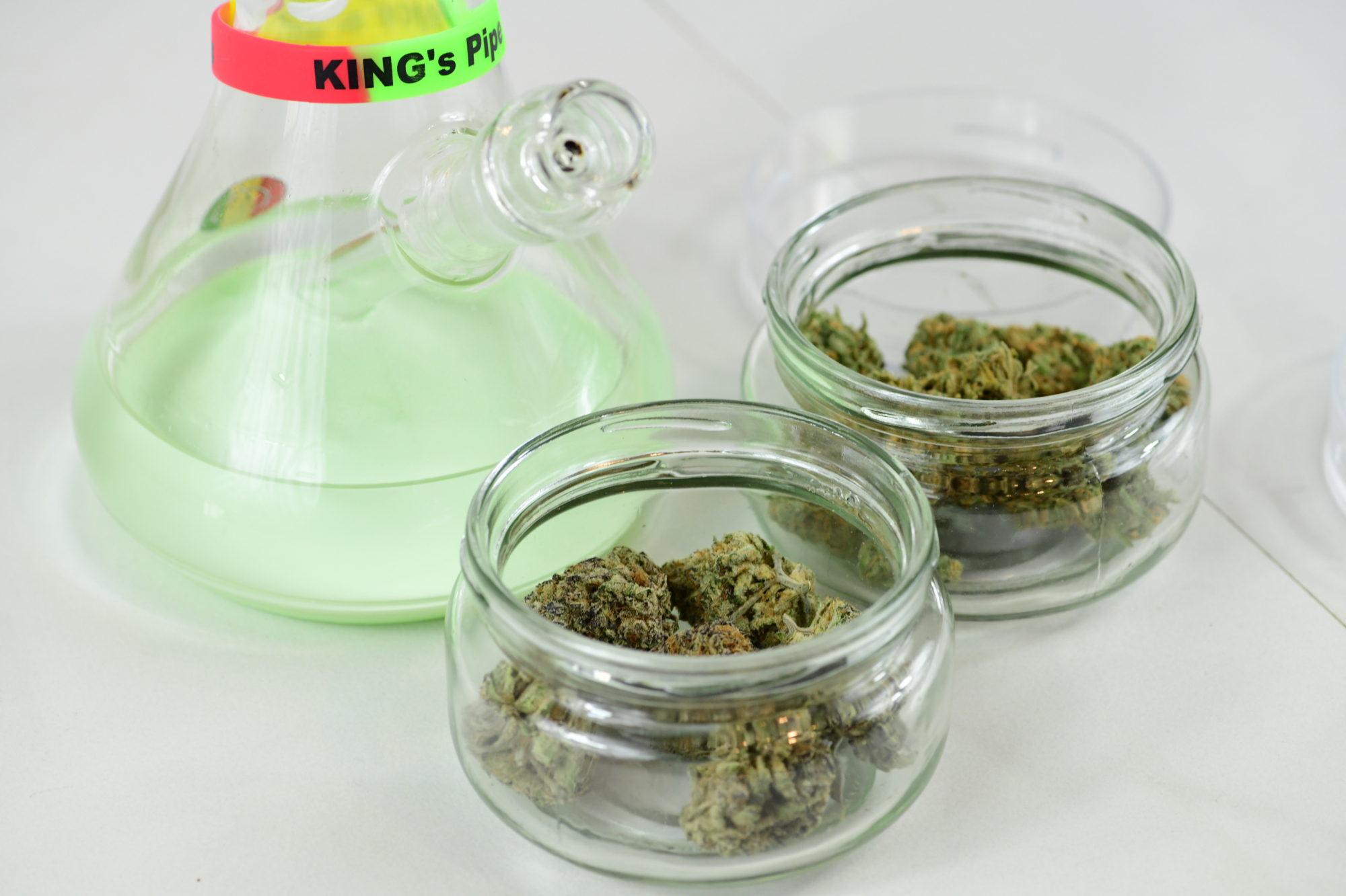 bong and weed